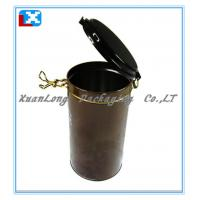 Wholesale Round Coffee Tin Box Packaging Can from china suppliers
