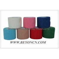 Wholesale Cotton Self - adhesive Cohesive Sports Tape Bandage Latex-free Hand Tearable from china suppliers