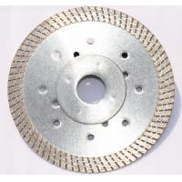 Wholesale Hot-pressed Continuous Turbo Rim Ceramic Tile Cutting Blade With 11.5mm Height Diamond Rim For Fast And Long  Life Cut from china suppliers