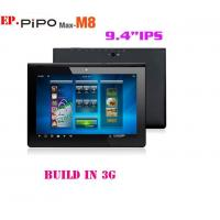 Wholesale Free shipping! PIPO M8 9.4 IPS android 4.1 build in3G tablet pc RK3066 dual core 1.6Ghz  from china suppliers