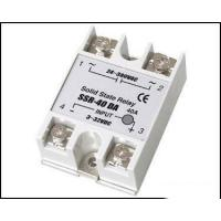 Wholesale Fotek Type Electrical Relay / Solid State Variable Relay With LED Indication SSR-40DA from china suppliers
