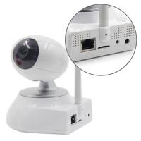 Wholesale Network Video Home IP Camera , Pan / Tilt / Zoom camera with TF card recording from china suppliers