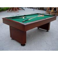Quality Attractive Billiards Game Table Solid Wood Full Size Pool Table For Tournament for sale
