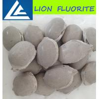 Wholesale Fluorite ball/ CaF2 75% fluorite ball metallurgical grade fluospar/cement grade briquettes/uses of calcium fluoride from china suppliers