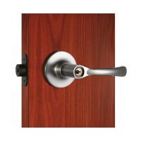 Wholesale Polished Security Tubular Lock Set Satin Nickel Lever Handle from china suppliers
