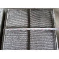 Wholesale Durable 304 Stainless Steel Wire Mesh Demister Pad With Custom Shapes from china suppliers