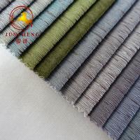 Buy cheap 2018 New arrival bronzed polyester fabric for furniture from wholesalers