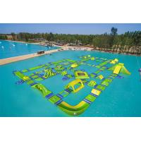 Wholesale Funny Forest Inflatable Water Park , Wibit Inflatable Water Sports Challenge from china suppliers
