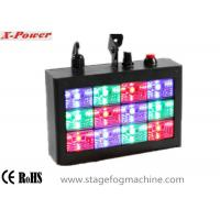 sound activated led strobe lights with 12 pcs 1w rgb high power leds. Black Bedroom Furniture Sets. Home Design Ideas
