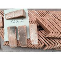 China Culture Surface Clay Brick Tiles , Quoined Brick Corners For Indoor / Outdoor Wall on sale