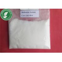 Wholesale 99% White Steroid Hormone Boldenone Acetate For Fitness CAS 2363-59-9 from china suppliers