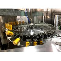 Wholesale High Efficiency Juice Bottle Filling Machine Rinsing Filling Capping And Packing Machine 9.18kw from china suppliers