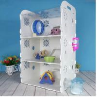 Quality acryl hamster cage,New style clear square household 3 steps acrylic hamster cage for sale