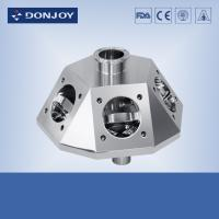 Buy cheap 316L Multipass Pneumatic Diaphragm Valve , sanitary stainless steel fittings from wholesalers