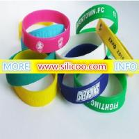 printed silicone wristbands for sale