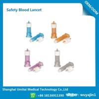 Wholesale Pressure Activated Disposable Blood Lancets For Diabetes OEM / ODM Available from china suppliers