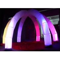 Wholesale Club Decoration Inflatable Arch Attractive With LED Changing Light from china suppliers