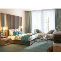 Commercial Modern Luxury Hotel Bedroom Furniture Solid Wood Material for sale