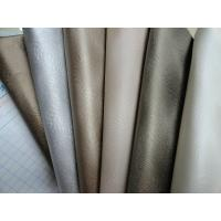 Wholesale PU Embossed Leather Upholstery Genuine Leather Handfeeling for Decorative, Chair, Sofa from china suppliers