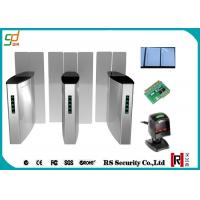 Wholesale Stainless Steel Turnstile Security Systems, Full Height Sliding Barrier Turnstile Gate from china suppliers