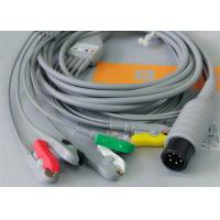 Wholesale 5 Leads Ecg Snap Medical Cable , Medical Equipment / Medical Device Accessories from china suppliers