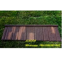 Wholesale 0.5mm Colour Coated Steel Roofing Sheets Red Color 6kgs Weight/sqm from china suppliers