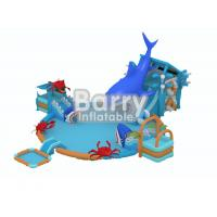 Wholesale Commercial grade outdoor gorilla inflatable amusement water  park with 3 pools for kids from china suppliers