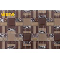 Wholesale Outdoor Anti - Freeze Metal And Glass Mosaic Tile For Background Wall from china suppliers