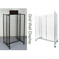 Wholesale Gridwall Gondola Grocery Store Display Racks For Supmarket Iron Frame H Shape from china suppliers