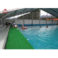 Wholesale Large Swimming Pool Tent Powder Coated Steel or Aluminum UV Resistance from china suppliers