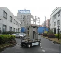 Wholesale Four Mast Electric Ladder Lift , 300KG Load 12m Mobile Elevated Platform from china suppliers