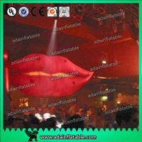 Wholesale Cartoon Advertising Inflatables Balloon , Giant Mouth Red Lip Customized Character from china suppliers