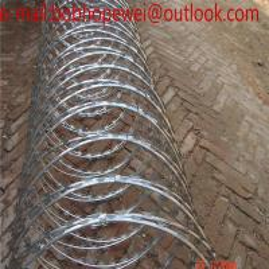 China razor barbed wire manufacturers/razor wire vs barbed wire/razor wire law/razor wire fence manufacturers on sale