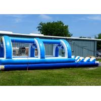 Wholesale Blue Single Lane Commercial Inflatable Water Slides For Adults And Children from china suppliers