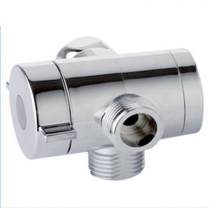 Quality M1/2 ABS Plastic 3 Way Water Diverter Valve , Shower Diverter Valve Eco Friendly for sale