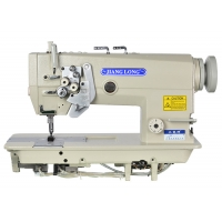 Wholesale Leather 2000RPM DP×5 Lockstitch Double Needle Sewing Machine from china suppliers