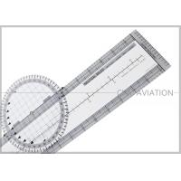 Wholesale Durable Plastic Pilot Flight Ultimate Rotating Plotter with Nautical-statute Conversion Scale # CP-R from china suppliers