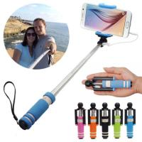 Super Mini Handheld Fold Self-portrait Self stick Holder Monopod Remote for Smartphone for sale