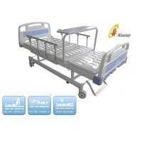 Wholesale Aluminum Folding Guardrail Manual Crank Nursing Medical Hospital Beds (ALS-M307) from china suppliers