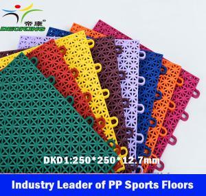 Outdoor PP Sports Flooring,Floating PP Sport floor, Sport Floor China