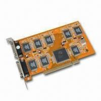 Wholesale DVR PCI Video Card, Supports Plug-and-play Function and PAL/NTSC from china suppliers