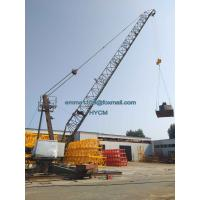 China QD3023 Derrick Crane 99ft Luffing Boom 8tons Load Export to Cambodia for sale