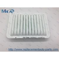 Wholesale White Paper Auto Air Filter Car Replacement 17801-0D060 Auto Spare Parts from china suppliers