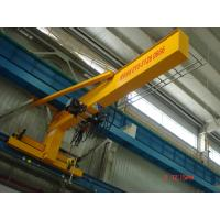 China Compacted Frame Wall Traveling Truck Jib Cranes For Fitting & Fabrication Workstation on sale