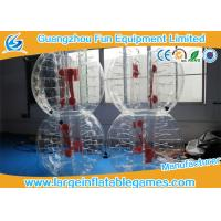Wholesale Top TPU Inflatable Bubble Ball Soccer Bumper Kids / Adults Body Zorb Football Suit from china suppliers