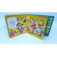 Quality 6 Button Multi Sound Panels interactive baby book For Indoor educational toy for sale