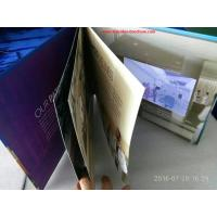 Buy cheap 7 inchMultipages lcd screen printed video card / video mailer with durable from wholesalers
