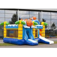 Wholesale Clown Water Slide Combo , Bounce House Slide Combo With Slide For Kids Party from china suppliers