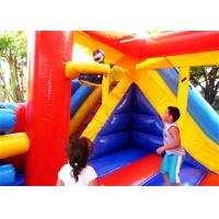 Quality Multifunction Inflatable Bouncer , Inflatable Cartoon Bouncy Castles For Outdoor for sale