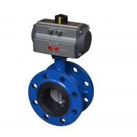 Blue DA-160 Pneumatic Rotary Actuator Double Acting Rack And Pinion Design